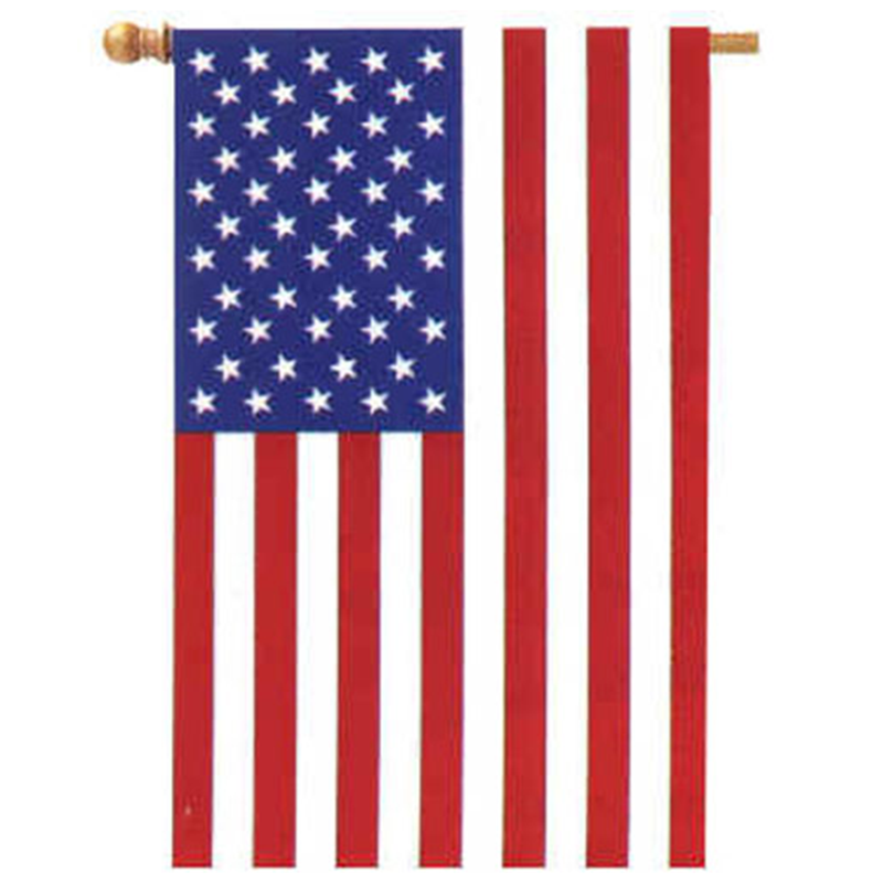 American Flag Applique